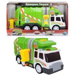 Śmieciarka zielono-biała