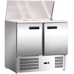 Stół chłodniczy sałatkowy 2 drzwiowy STALGAST 842129
