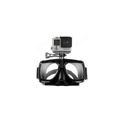 Maski, płetwy i fajki, Maska do nurkowania do kamer sportowych GoPro SJCAM