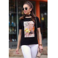 Damski t-shirt MYLA