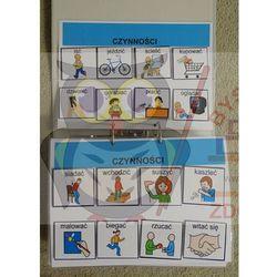 Mój pierwszy starter wizualny - książka z piktogramami ( obrazkami tematycznymi)