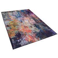 Dywany, Dywan kolorowy 140 x 200 cm krótkowłosy MARDIN