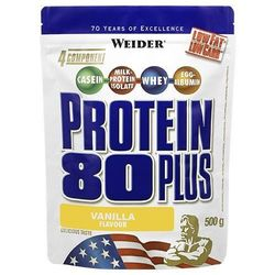 WEIDER Protein 80 Plus - 500g - Dark Chocolate