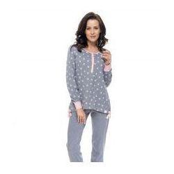 Rozpinana piżama Doctor Nap - Grey Pink