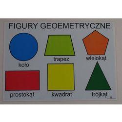 Podstawowe figury geometryczne - plansza demonstracyjna