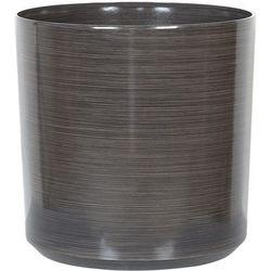 Doniczka brązowa 35 x 35 x 35 cm VAGIA