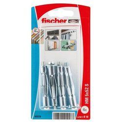 Kołki do g-k Fischer stalowe HM 5 x 52 mm 4 szt.