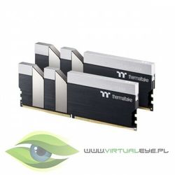 Thermaltake pamięć do PC - DDR4 16GB (2x8GB) ToughRAM RGB 3600MHz CL18 XMP2 Czarna