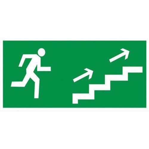 Oznakowanie informacyjne i ostrzegawcze, Znak Kierunek ewakuacji schodami w prawo w górę