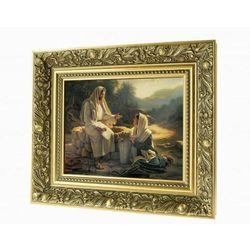 Obraz ceramiczny Jezus i Samarytanka