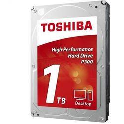 Dysk Toshiba P300 - (HDWD110UZSVA) Szybka dostawa! Rekomendacja Eksperta Darmowy odbiór w 21 miastach!