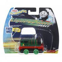 Pojazdy bajkowe dla dzieci, Mattel Tomek i Przyjaciele Lokomotywki ze światełkami, Percy