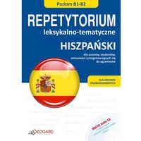 Językoznawstwo, Hiszpański. Repetytorium Leksykalno-Tematyczne + Cd (opr. miękka)
