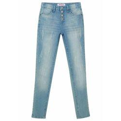 Spodnie 3/4 bonprix ciemnoniebieski