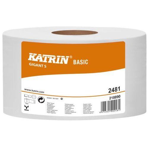 Papier toaletowy, Papier toaletowy Katrin Gigant S 12 szt. 1 warstwa 150 m średnica 18 cm naturalny