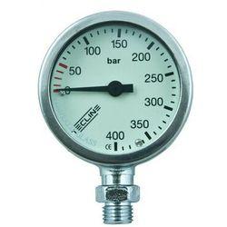 Manometr TecLine 400 bar 52 mm, chrom - głowica