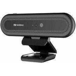 Sandberg Kamera internetowa Face Recognition Webcam 1080P (133-99)