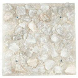 Płyta solna Panel solny do sauny saltino biała 40x40