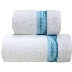 Ręcznik bawełniany Greno Ombre Biały Aqua