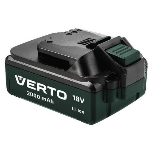 Ładowarki i akumulatory, Verto K75657-0 Li-Ion 18 V / 2,0 Ah