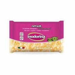 Inodorina Refresh Camomilla chusteczki nawilżane 15szt
