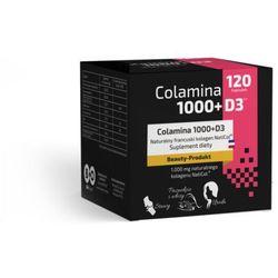 Colamina 1000+D3 Naticol 120 kapsułek Kolagen rybi Bioorganic