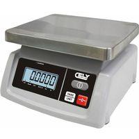 Wagi sklepowe, Waga sklepowa   dokładność 5/10g   do 25 kg   235x240x(H)130mm