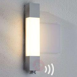 Kinkiet LED L630, panel z numerem domu, czujnik