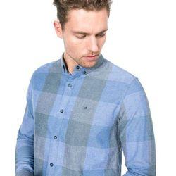 Calvin Klein Wilken Shirt Niebieski XL Przy zakupie powyżej 150 zł darmowa dostawa.