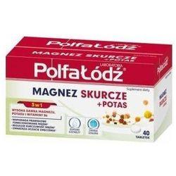 Magnez Skurcze + Potas x 40 tabletek