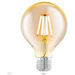 Żarówka LED kula filament VINTAGE 4W E27 G95 + RABAT w koszyku za ilość!!!