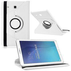 Białe etui skórzane PU Stand Cover Galaxy Tab A 9.7 T550 - Biały
