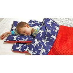 Śpiworek przedszkolaka łosie + worek