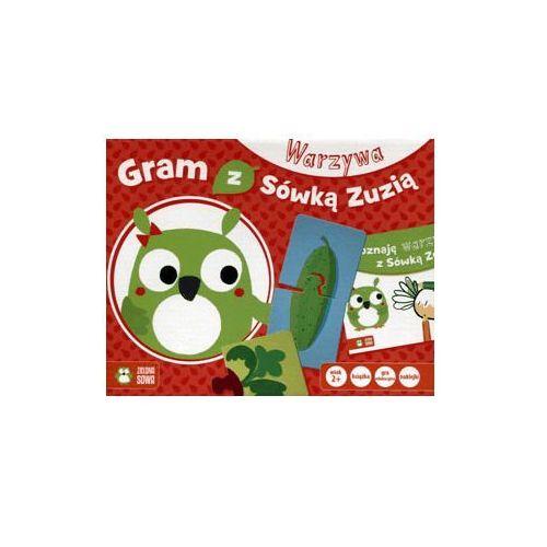 Gry dla dzieci, Gram z sówką Zuzią - Warzywa