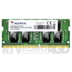 Adata Pamięć notebookowa Premier DDR4 2666 SODIM 16GB CL19 Single Tray