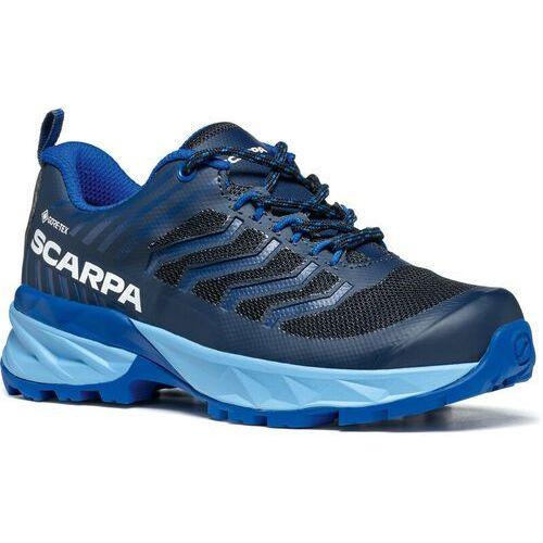 Trekking, Scarpa Rush GTX Shoes Kids, black/lakeblue EU 31 2021 Buty turystyczne