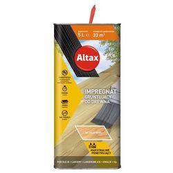 Impregnat do drewna GRUNTUJACY 5lBezbarwny ALTAX