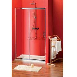 SIGMA drzwi prysznicowe do wnęki 120cm szkło matowe BRICK SG3262