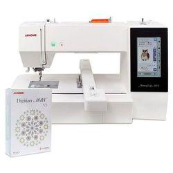 Hafciarka Janome MC500E + Janome Digitizer MBX