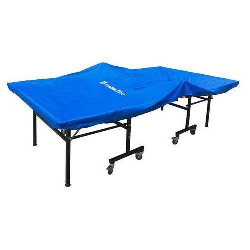 Tenis stołowy, Ochronny pokrowiec na stół do tenisa stołowego inSPORTline Voila, Niebieski