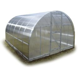 Tunel szklarnia Omega z poliwęglanu 6 mm stal ocynk 3x8