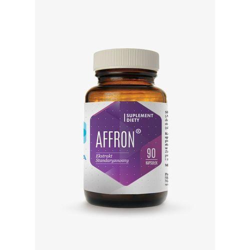 Preparaty ziołowe, Wyciąg ze znamion szafranu Affron ekstrakt standaryzowany 30mg 90 kapsułek Hepatica