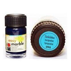 Farba do marmurkowania Easy Marble Marabu 15 ml - 098 Turkisblau