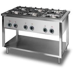 Kuchnia gazowa 6-palnikowa Lozamet GLW.67.1/2