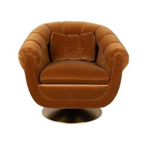Fotele i krzesła biurowe, Dutchbone Fotel MEMBER WHISKEY 3100103