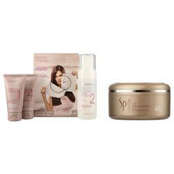 Alfaparf Keratin Therapy and Keratin Restore | Zestaw wygładzająco-regenerujący: zestaw do keratynowego prostowania włosów + maska regenerująca 150ml