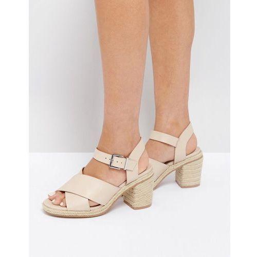 Pozostałe obuwie damskie, ASOS TAP DANCER Espadrille Heeled Sandals - Beige