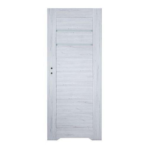 Drzwi wewnętrzne, Drzwi z podcięciem Winfloor Minoris 60 prawe silver