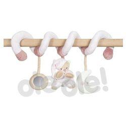 Nattou 860147 Spiralna zabawka Miś (różowy) - produkt w magazynie - szybka wysyłka!