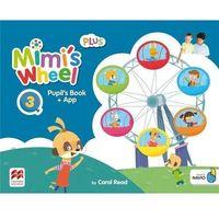 Książki do nauki języka, Mimi's Wheel 3 Plus PB + kod do NAVIO MACMILLAN - Carol Read (opr. broszurowa)